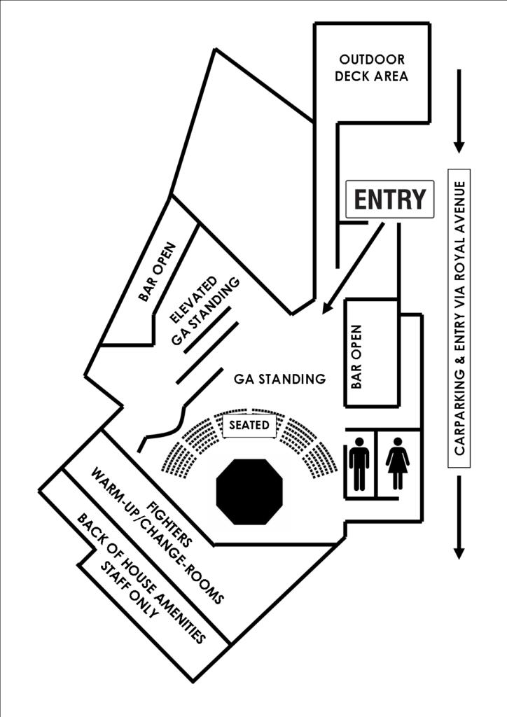 The Bridgeway Hotel Floor Plan