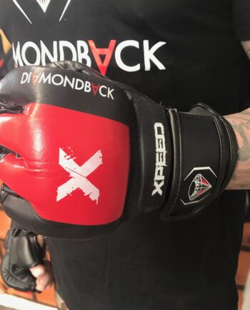 DFC Limited Edition Official Fight Night Gloves Red