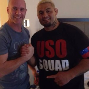 USO Squad Mark Hunt