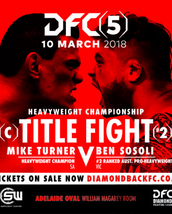 DFC5 Title Fight Poster