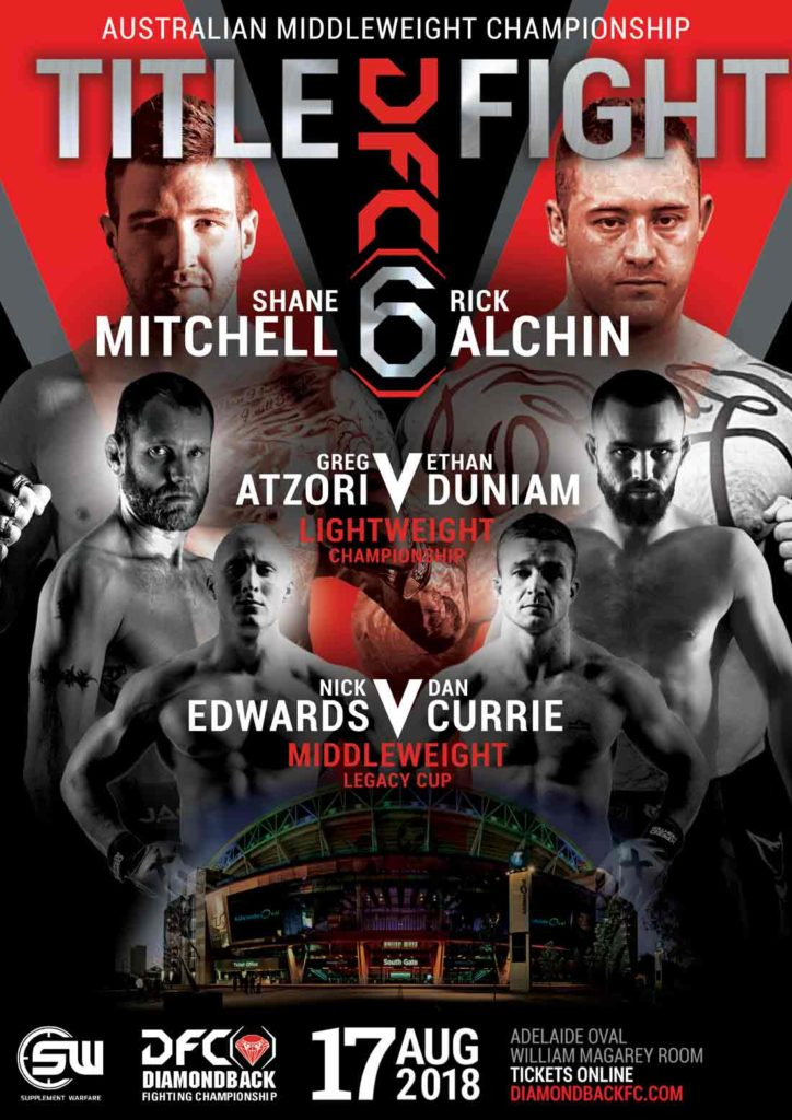 DFC 6 Fight Poster